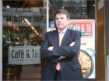 CAFÉ & TÉ - José Navío, nuevo director de Expansión de Franquicias Café&Té