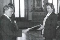 C.E. CONSULTING EMPRESARIAL - Consuelo Antequera recibe el reconocimiento por su labor como empresa colaboradora del Servicio Andaluz de Empleo