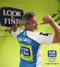 LOOK & FIND - LOOK & FIND apuesta por el Pádel y pasa a ser patrocinador oficial del jugador Miguel Lamperti