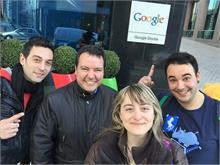 Nos vamos de visita a las oficinas de Google