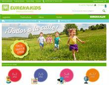 Eurekakids renueva su tienda online