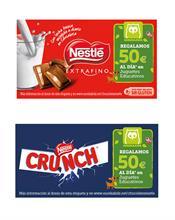 Nestlé y Eurekakids regalarán cada día 50 euros en juguetes educativos