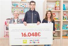 Eurekakids recauda 16.000 euros a beneficio del Hospital Sant Joan de Déu