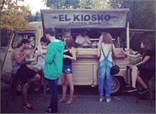El Kiosko - El Kiosko instala su food truck en Las Fallas