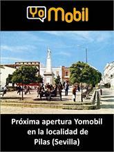 Yomobil - Yomobil abrirá una nueva tienda en PIlas (Sevilla)