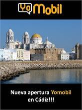 Yomobil - Próxima apertura Yomobil en Cádiz