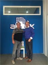 Visita de Xavier Lafoy, vice CEO de Adaix Group Asia
