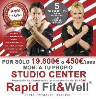 RAPID FIT WELL - Rapìd Fit Well abre este año 10 centros , Lisboa, Cascais Lima, Braga, Madrid, Valencia, Cordoba, Cadiz, Coruña,