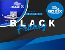 Adaix - Adaix celebrará el próximo viernes 24 de noviembre el Black Friday