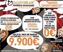 BODYSILUET - SÓLO EN ESTE MES DE MARZO TU PROPIO BODYSILUET DESDE 9.900€+IVA