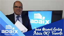 Entrevista al gerente de Adaix OK7 Tenerife, Juan Manuel Godoy