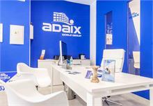 La nueva imagen de las agencias Adaix