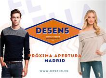 Próxima tienda DE5EN5 en Madrid