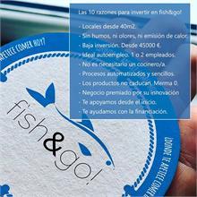 10 razones para abrir tu propia Freiduría fish&go!
