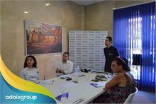 Nuestros profesionales inmobiliarios reciben su primera formación en las oficinas de Adaix Expansión