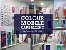 Dos  nuevas tiendas de telefonía  COLOURMOBILE VINAROS Y CARBALLIÑO al 100%