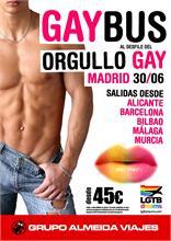 ALMEIDA VIAJES ORGANIZA ESCAPADAS 'LOW COST' AL DESFILE DEL ORGULLO GAY EN MADRID