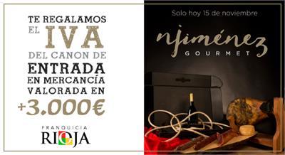 El ibérico estará presente en FranquiciaRioja por NJiménez Gourmet