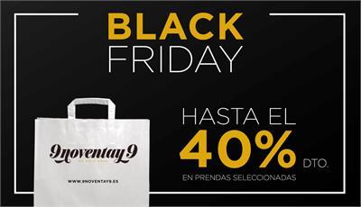 Black Friday en tiendas 9noventay9