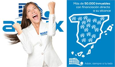 Adaix - Adaix incorpora a su cartera más de 50.000 inmuebles con financiación directa
