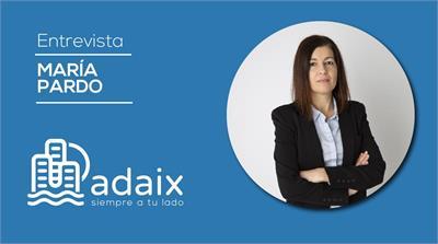 Entrevista a la agente inmobiliario Adaix, María Pardo