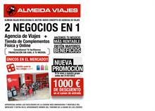 ALMEIDA VIAJES - Almeida Viajes fomenta el autoempleo y rebaja 1.000 euros a los nuevos franquiciados