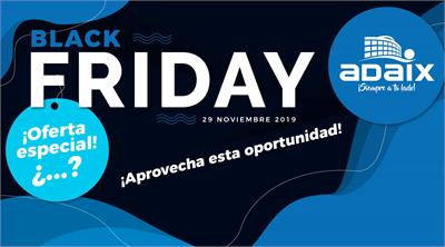 Black Friday llega con Adaix