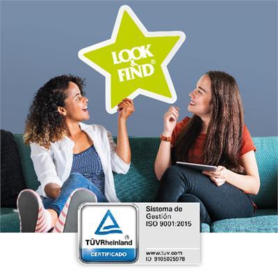 LOOK & FIND supera con éxito la auditoria de calidad realizada por TÜV Internacional