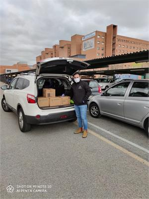 BEAUTY Max dona material sanitario para la lucha contra el coronavirus
