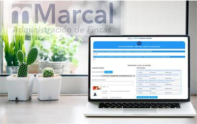 Marcal Administración de Fincas incorpora las Juntas Virtuales