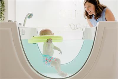 Spa de bebés, un negocio en auge