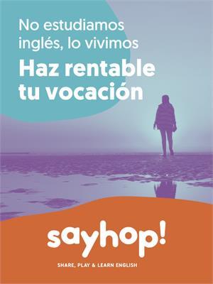 Justo ahora es el momento ideal para hacer rentable tu vocación con Sayhop!®