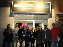 Equivalenza - Éxito en la reinauguración de Equivalenza en Zaragoza