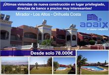 Adaix - Adaix Oportunidad, Últimas viviendas de nueva construcción en lugar privilegiado, directas de banco a precios muy interesantes