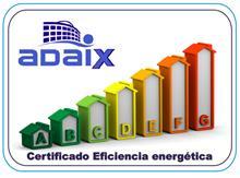 Adaix - Servicio de Certificación de eficiencia energética disponible en todas las agencias Adaix