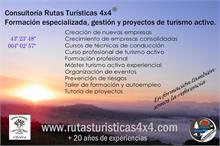 RUTAS TURISTICAS 4X4® - Cursos y talleres de empleo turismo