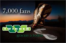 TWINNER - Twinner celebra sus más de 7.000 seguidores en Facebook con un nuevo sorteo de 200 euros en productos Adidas