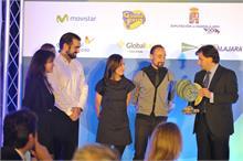 TWINNER - Twinner VelociraptorMP recibe el premio Emprendedor de la CEOE-CEPYME Guadalajara 2013