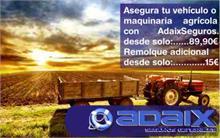 Asegura tu Vehículo Agrícola con Adaix