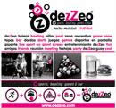 Logo franquicia dezZeo Sports Bar & Bowling Games
