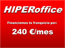 Logo franquicia HIPERoffice  LOW COST